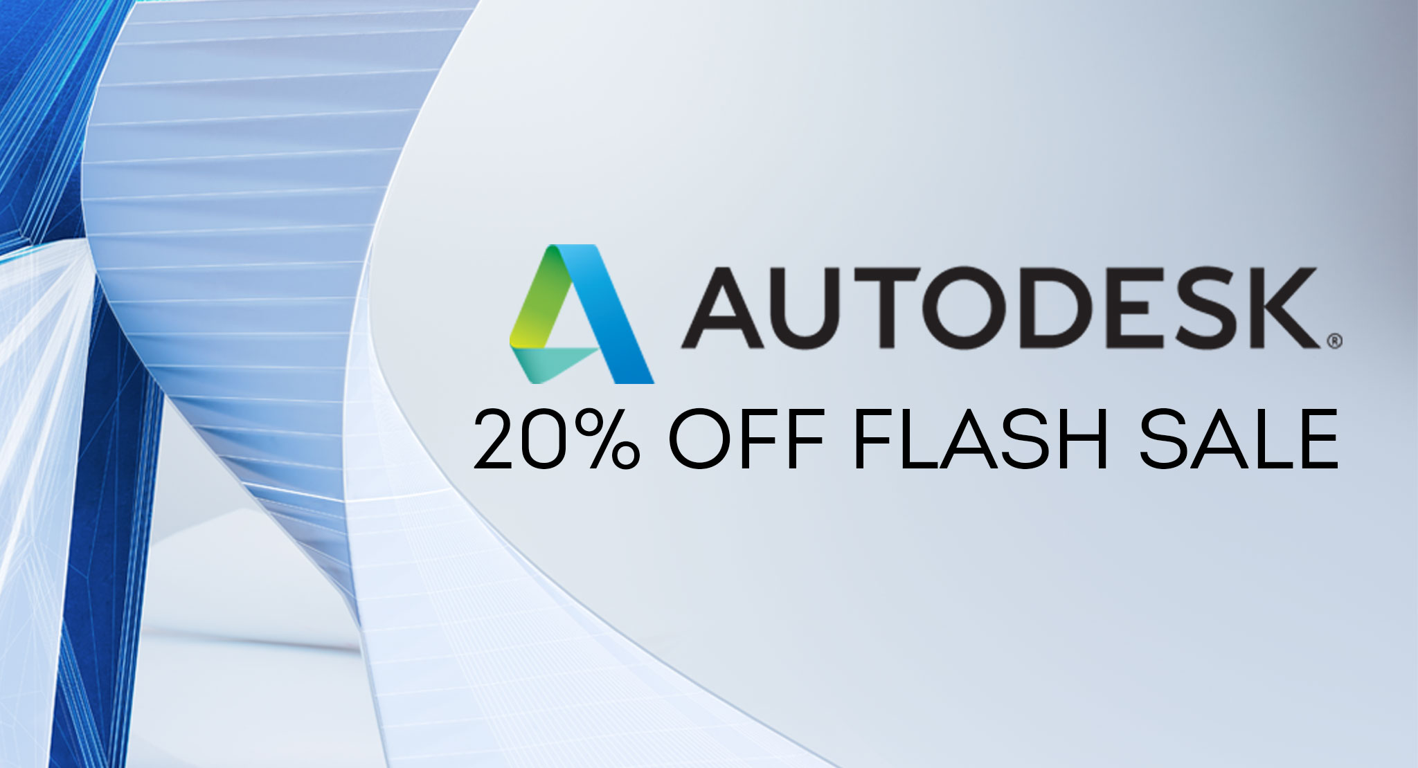 Autodesk 20% Flash Sale Starts Today