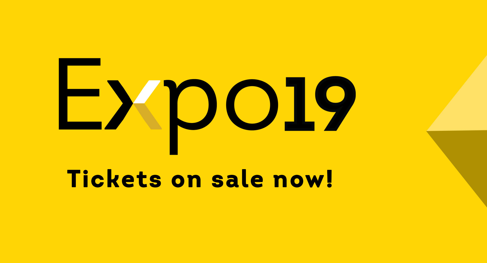 Bluegfx's Expo19 Tickets - On Sale Now!