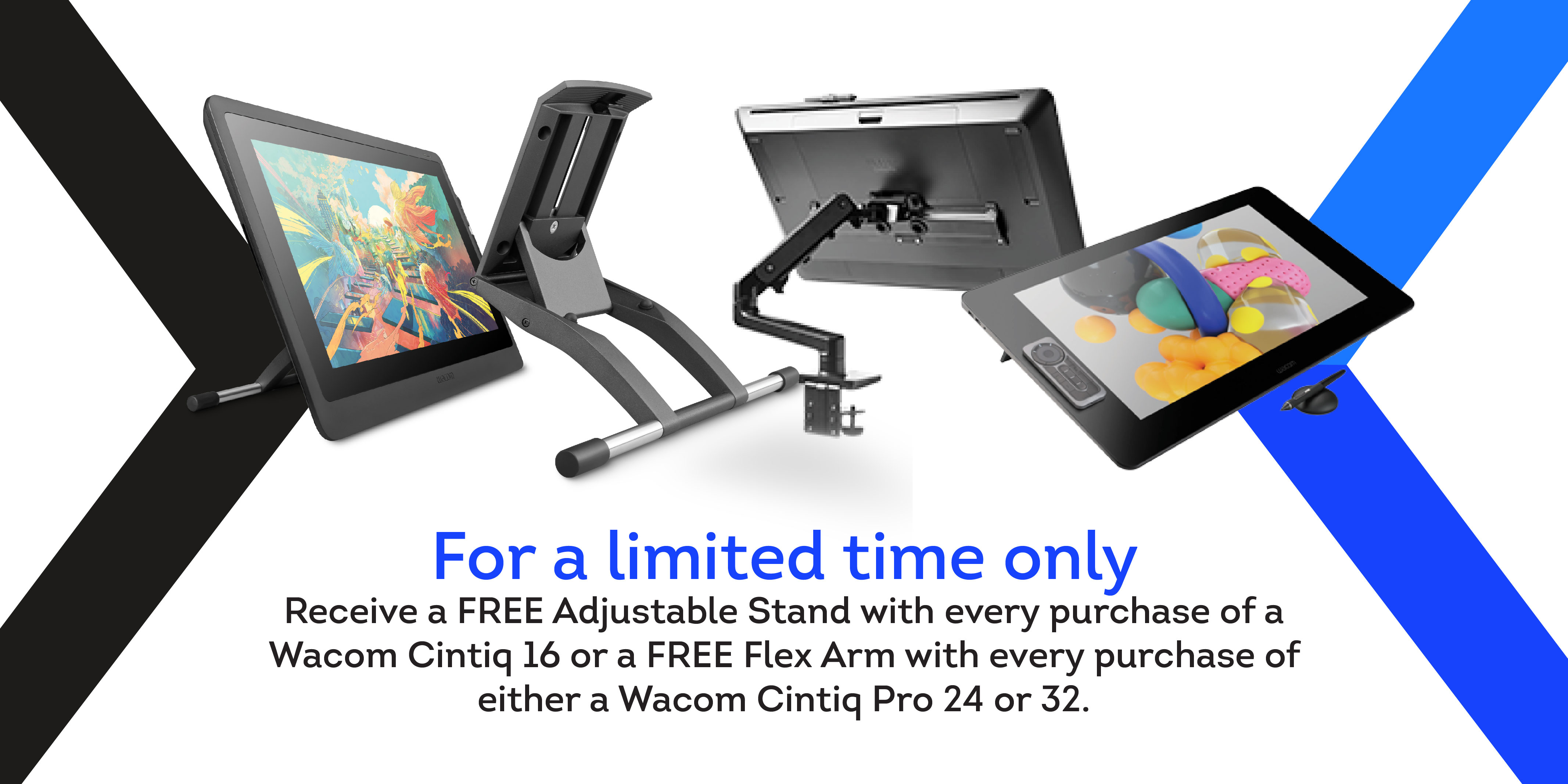 Wacom Cintiq and Cintiq Pro Offers!