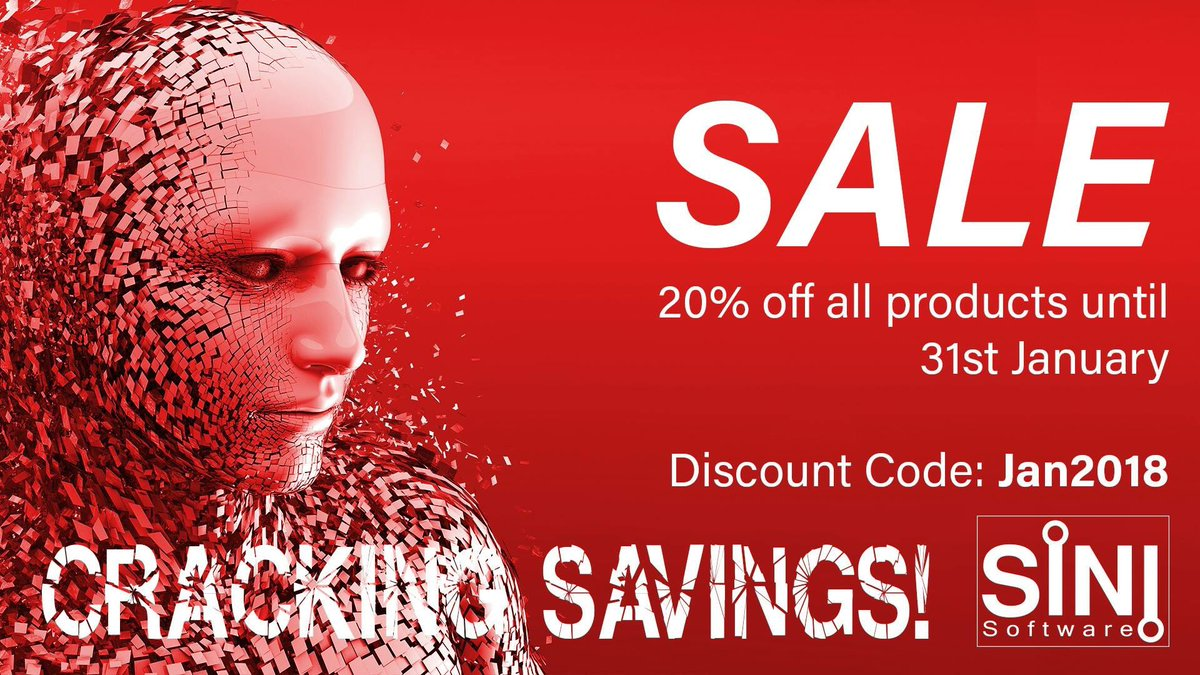 20% off all SiNi products until the end of Jan