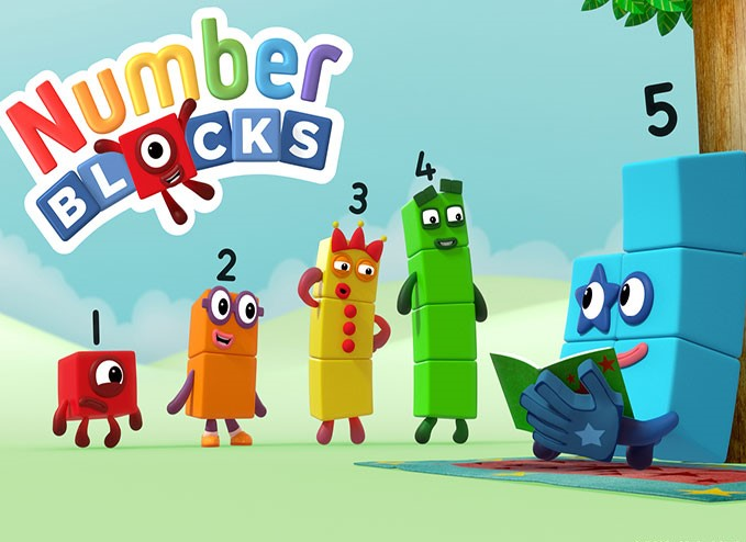 Numberblocks launches on CBeebies today!